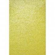 Фоамиран глиттерный 2мм 20х30см светлое золото