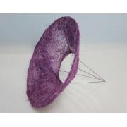 Каркас для букета (сизаль), фиолетовый, d=25см