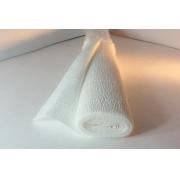 Гофрированная бумага 140г/м2 №900 0.5х2.5м Белая (Италия)