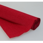 Гофрированная бумага 180г/м2 №586 0.5х2.5м Вишневая (Италия)