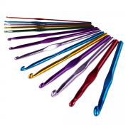 Крючок для вязания металл 6.5