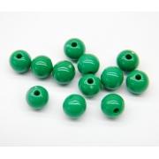Бусины акрил BSA-12 12 мм 07 зеленый (25 шт.)