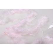Перья 9см 12гр. светло-розовые