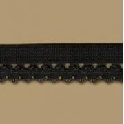 Лента эластичная DT-11 10мм (2метра) черная