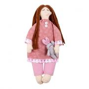 Набор для шитья игрушки D-0109 Сонечка с зайкой
