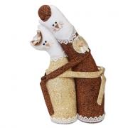 Набор для шитья игрушки С-0105 Коты-обнимашки золотые