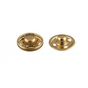 Кнопки пришивные KLM-120 12мм (10шт.) золото