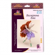 Набор для шитья игрушки BL-0151 Балерина Ева