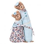 Набор для шитья игрушки BR-0162 Мишки-обнимашки