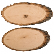 Срез (спил) дерева СРЕЗ-02 26х13см (1 шт.)