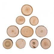 Срез (спил) дерева СРЕЗ-05 3.5 см (10 шт.)