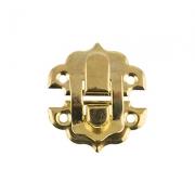 Замок для шкатулок MMG-007 29х32мм золото (1шт.)