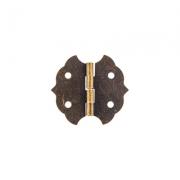 Декоративная петля MMG-029 28х30мм (2шт.) под бронзу