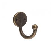 Декоративный крючок MMG-031 36х26мм, бронза