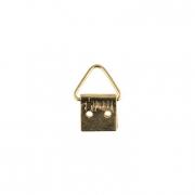 Петля для картины MMG-038 10х20мм золото (2шт.)