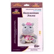 Набор для шитья игрушки HI-0180 Бегемотик Эмми