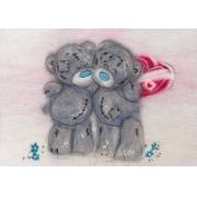 "Набор картина из шерсти 0158 ""Татти Тедди с сердечком"""