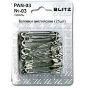 Булавки английские PAN-03 №03 25 шт.