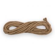 Канат/шнур джутовый КД2 100% джут 8мм (1м)