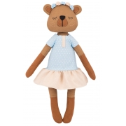 Набор для шитья игрушки ТТ-0217 Мишка Лулу