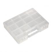 Коробка для швейных принадлежностей OM-007 прозрачная
