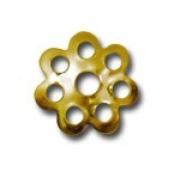 Шапочка для бусин DR-012 (7мм) 10 шт. под золото