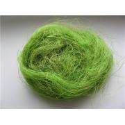 Сизалевое волокно (20 гр.), светло-зеленый