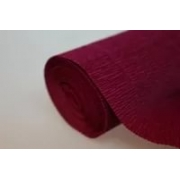 Гофрированная бумага 180г/м2 №584 0.5х2.5м Темно-вишневая (Италия)