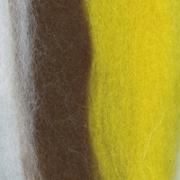 Шерсть для валяния полутонкая Троицк 6100 50 г