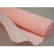 Гофрированная бумага №548 0.5х2.5м Светло-персиковая