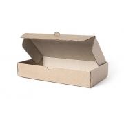 Коробка самосборная крафт 30х21х7см