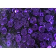 Пайетки 6 мм 10 г фиолетовые