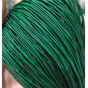 Канитель жесткая 1мм (1метр) темно-зеленый