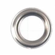 Кольца для блочек RVK 6мм (20шт.) никель