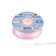 Лента атласная 3мм №004 бледно-розовый (10 м)