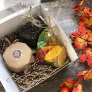 """Подарочный набор в коробке """"Осенний1"""""""