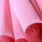 Гофрированная бумага 180г/м2 №549 0.5х2.5м Светло-розовая (Италия)