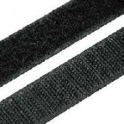 Липучка 20 мм (черный)