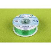 Лента атласная 3мм №035 зеленый (10 м)