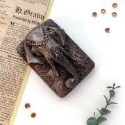 """Мыло сувенирное ручной работы """"Индийский слон"""""""