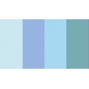 "Полоски для квиллинга ""Голубой микс"" 04-05-100 (5 мм 100 шт.)"