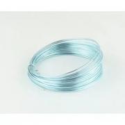 Проволока для плетения 1 мм голубой SF-904, 10 метров