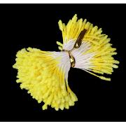 """Тычинки """"Пушистые жёлтые"""" длина 6 см (набор 170 шт)"""