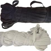 Резинка бельевая 0008 Ч 8 мм черная (5 метров)