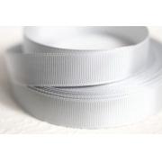 Лента репсовая 6 мм белая 001 (5 метров)
