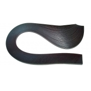 Полоски для квиллинга 01-03-100 (3мм 100 шт.) 38 черный