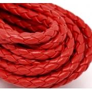 Шнур плетеный 4 мм (красный)