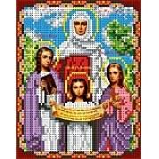 """Набор для вышивания бисером """"Святые Вера, Надежда, Любовь"""""""