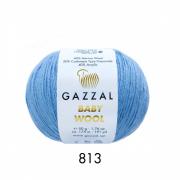 Пряжа Baby Wooll Gazzal 813 (Турция)