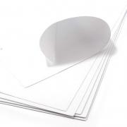 Фоамиран 1 мм 50х50 см Белый (Китай)